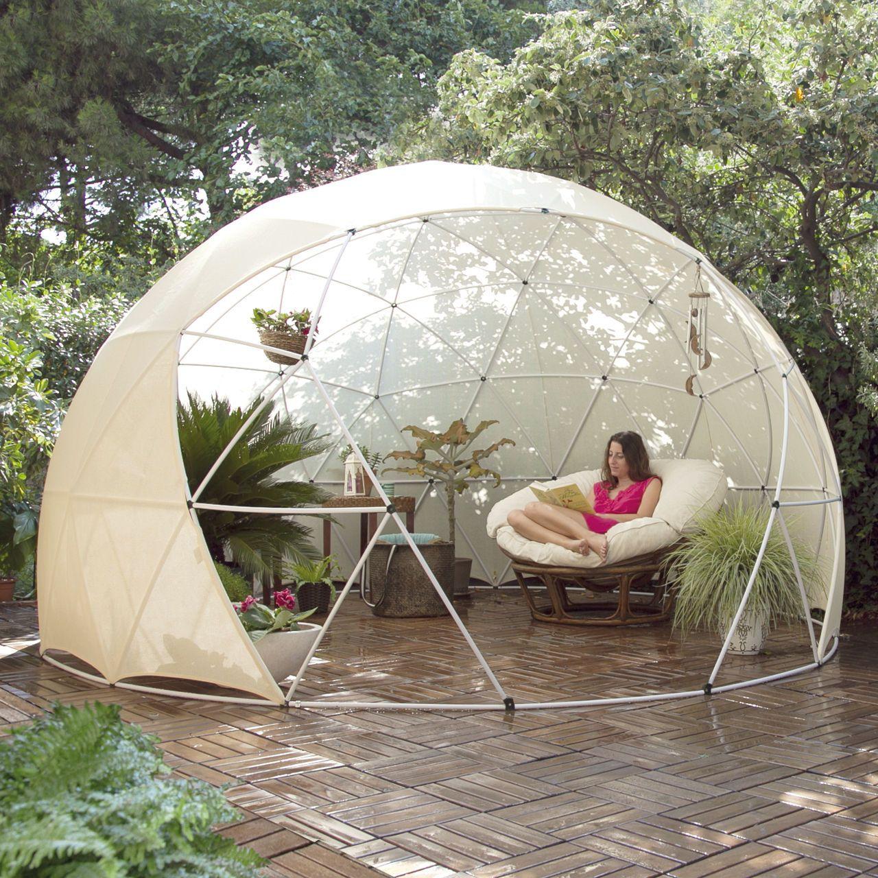 die besten 25 garten iglu ideen auf pinterest versenkbare laube sonnenschutz im freien und. Black Bedroom Furniture Sets. Home Design Ideas