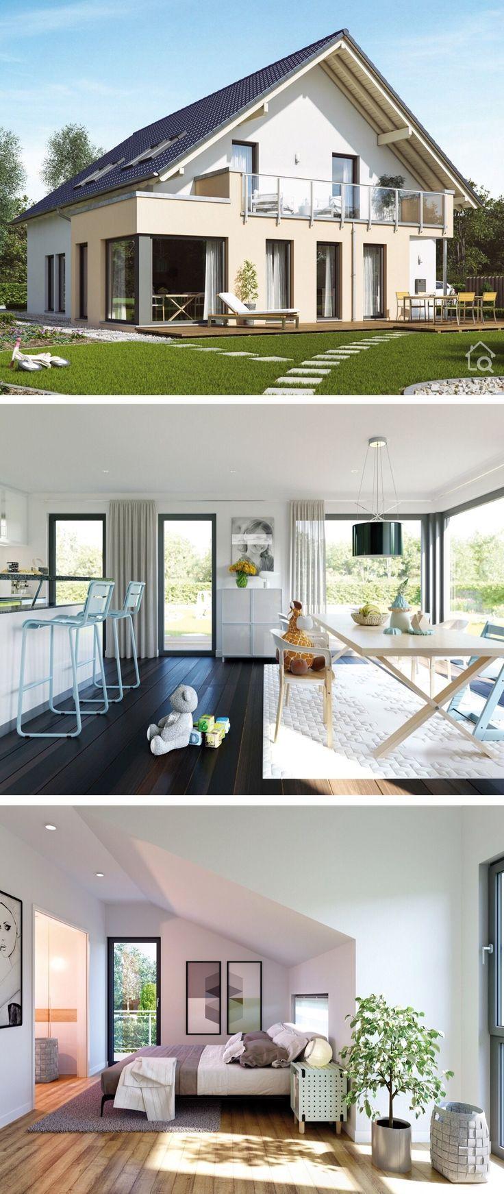 Einfamilienhaus Neubau klassisch mit Einliegerwohn...