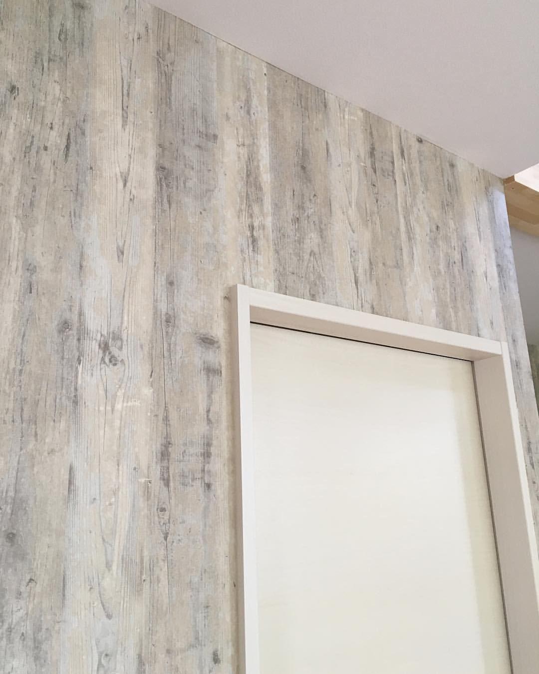 白に合う木目調の壁紙 壁紙 木目調 サンゲツ Fe 4152 現場