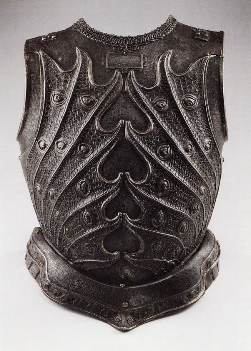 Negroli, Filippo (fl.1532-51) Armoured breastplate (metal),