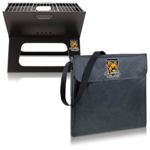 X-Grill - Black (Colorado College - Tigers) Digital Print