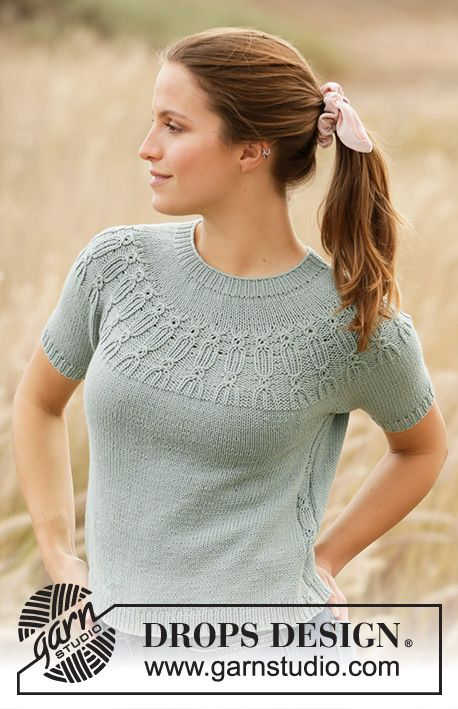 Wild Mint / DROPS 210-32 - Free knitting patterns by DROPS Design