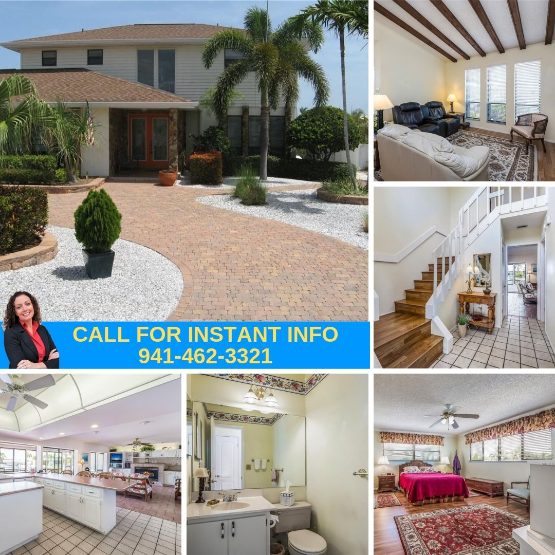 Bradenton Oaks: A Home Designed For Paradise On A Saltwater Canal With