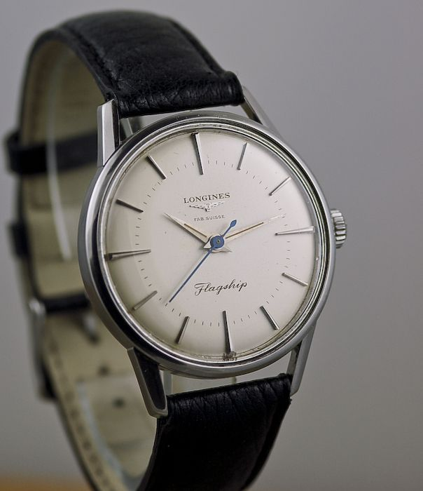 Gorgeous Vintage Longines Flagship Dress Watch In Beautiful