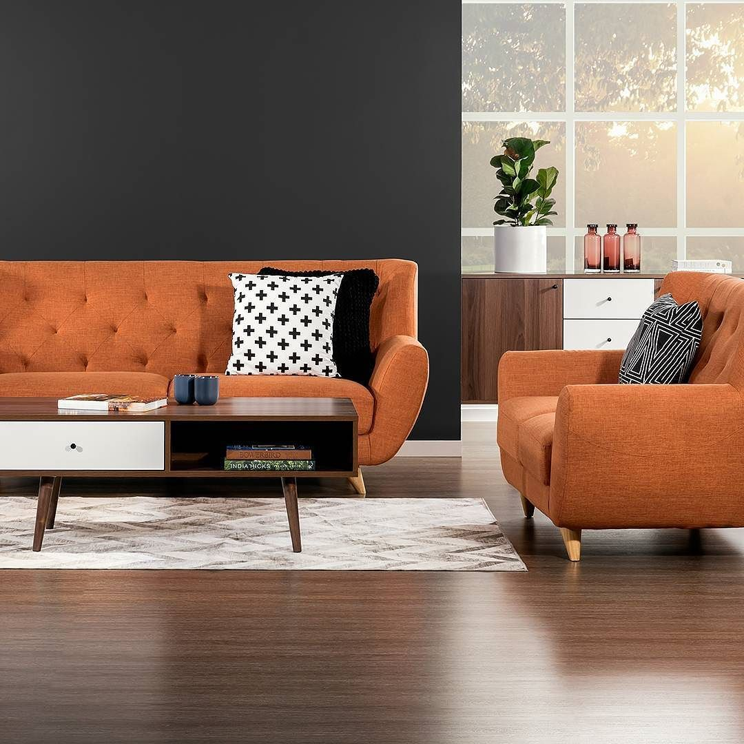 Swell Those Chairs Our New Juniper Sofa Chairs In Orange Both Machost Co Dining Chair Design Ideas Machostcouk