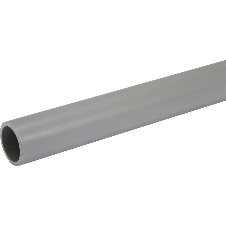Tube D Evacuation Pvc Diam 32 Mm L 1 M Diamant Produits Et Pvc