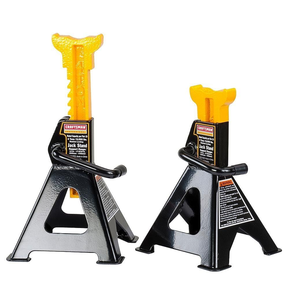 Amazon Com Craftsman 4 Ton Jack Stands Automotive Jack Stands Craftsman Automotive Mechanic