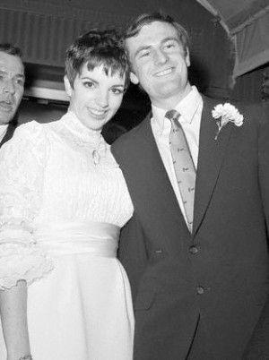Liza Minelli Peter Allen At Their Wedding March 3 1967