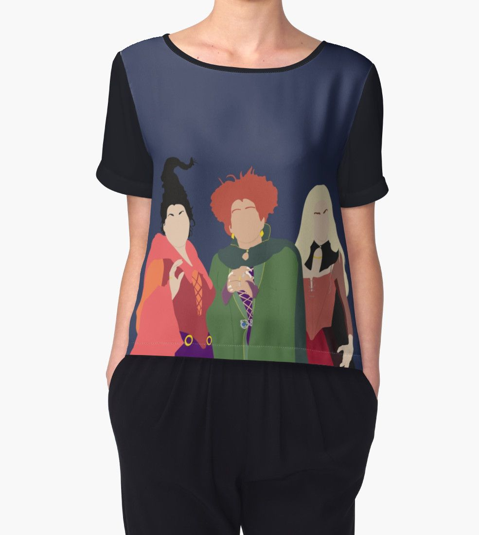 'Sanderson Sisters' Women's Chiffon Top by OutlineArt