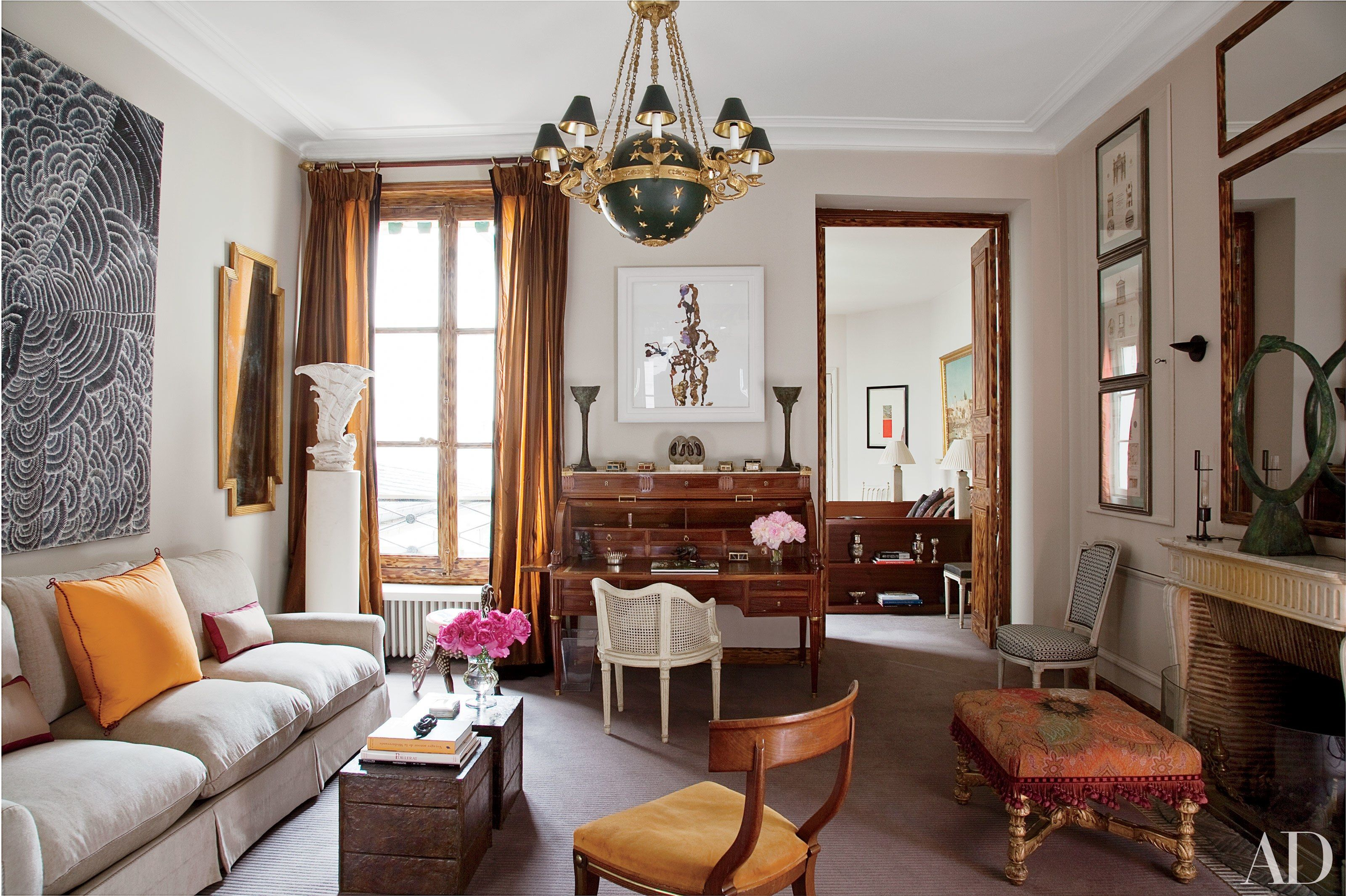 Parisian Apartments And Homes French Decorating Ideas Photos Architectural Digest