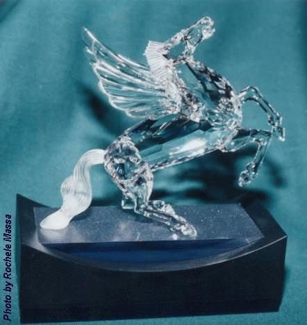 b4bf2e47f 1998 SCS Annual Edition Pegasus - Fabulous Creatures. 1998 SCS Annual  Edition Pegasus - Fabulous Creatures Swarovski Crystal Figurines ...