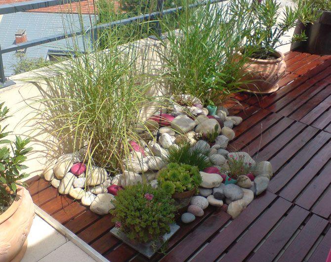 terrasse lyonnaise avant - Decorer Une Terrasse Avec Des Plantes