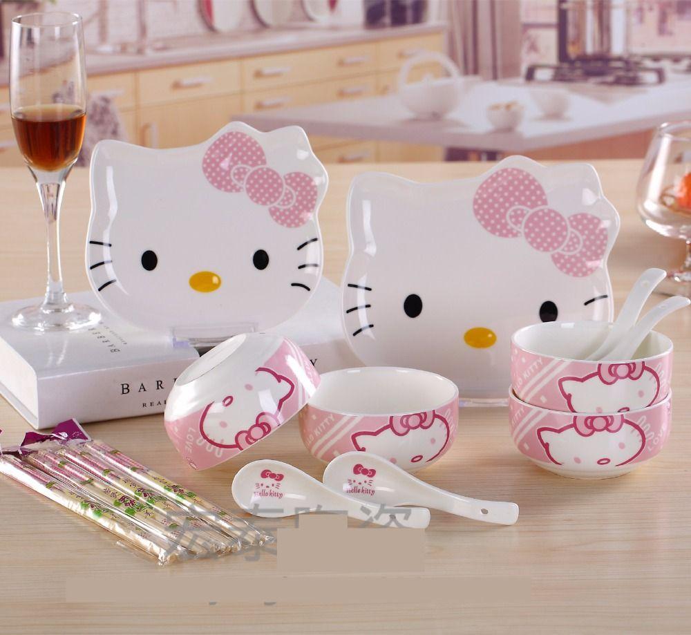 Sanrio Hello Kitty 3pcs Pencil Set Tea Time