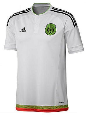91830b582 Mexico Away Jersey 2016 in White by Adidas in Mens sizes.