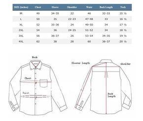 Image result for mens shirt measurement chart shirt megermeng in