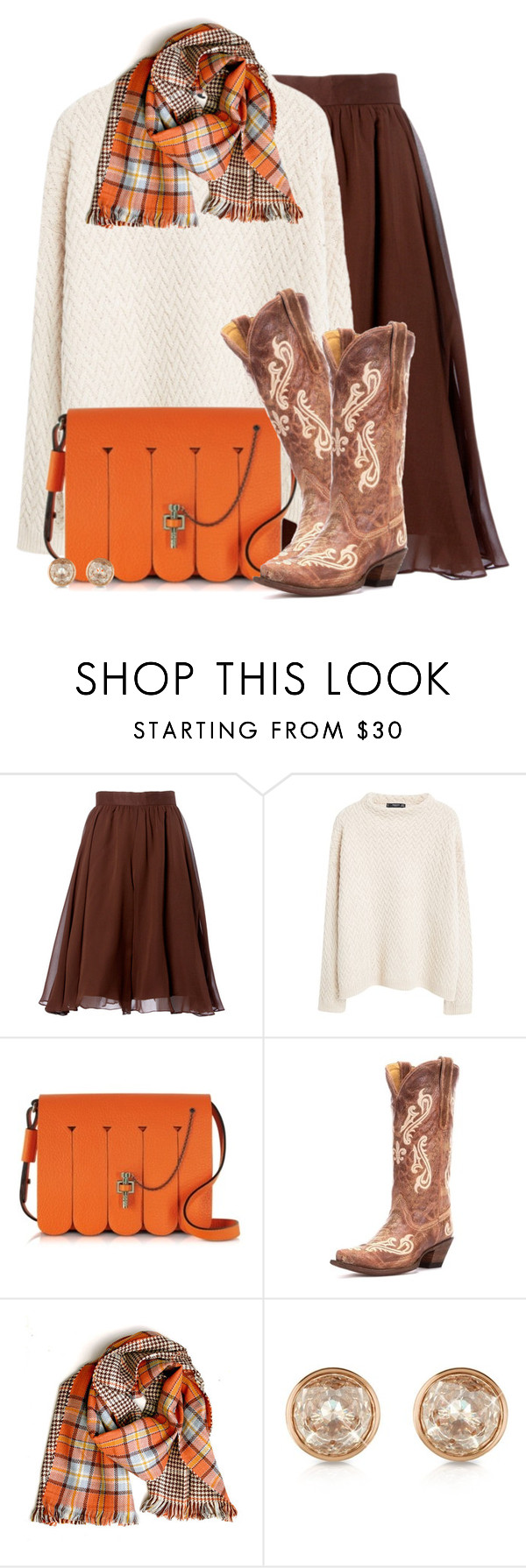 """""""Carven Handbags Malher Fringe Bag"""" by colierollers ❤ liked on Polyvore featuring Carolina Herrera, MANGO, Carven and Michael Kors"""
