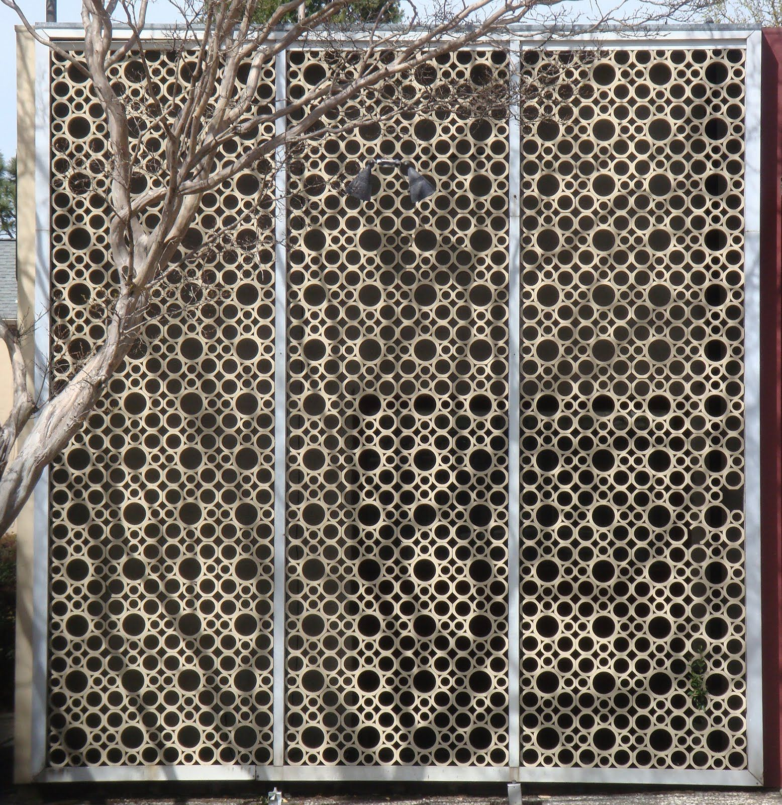 Decorative Block Wall decorative screens | mid century modern decorative screen block