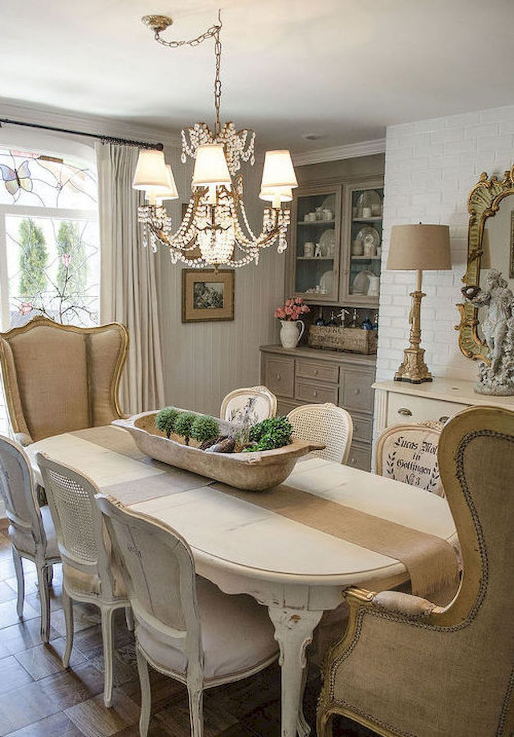 45 Impressive French Country Dining Room Design Ideas  French Enchanting French Country Dining Room Chairs Design Decoration