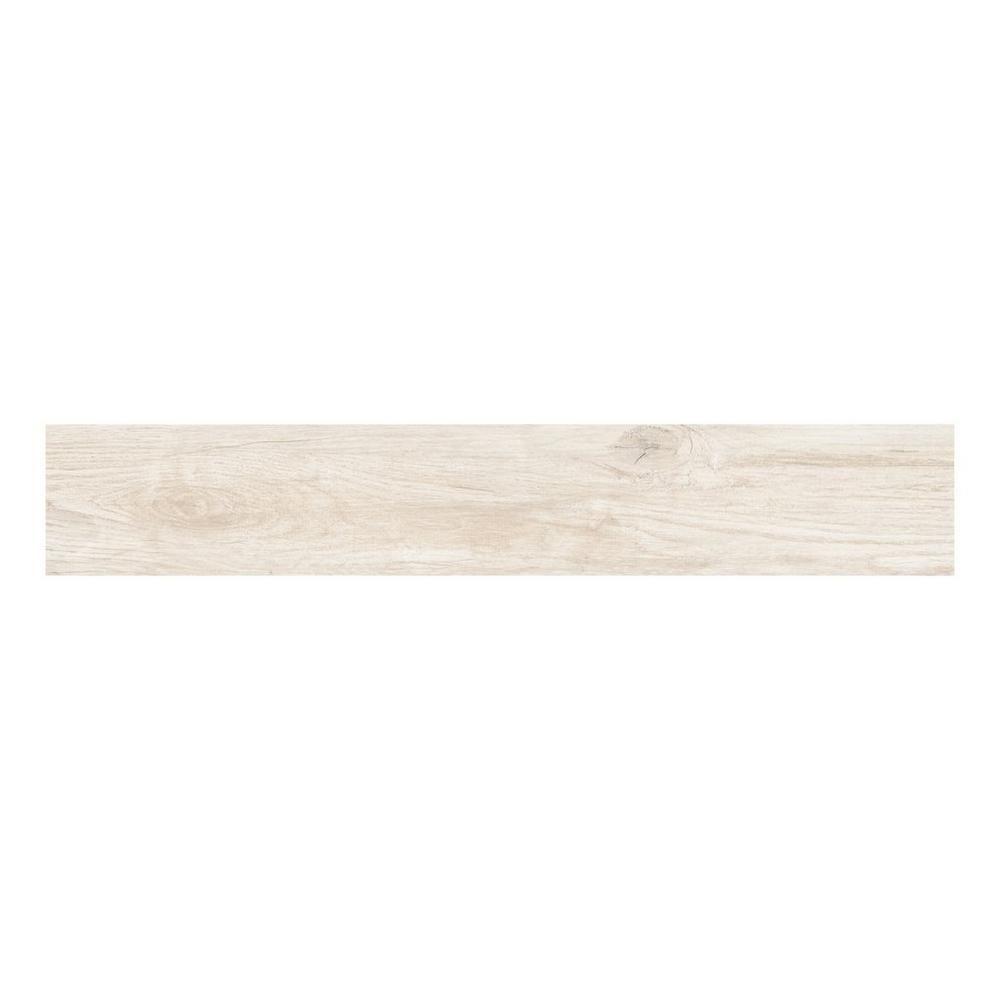 Savannah White Wood Plank Porcelain Tile Home Wood