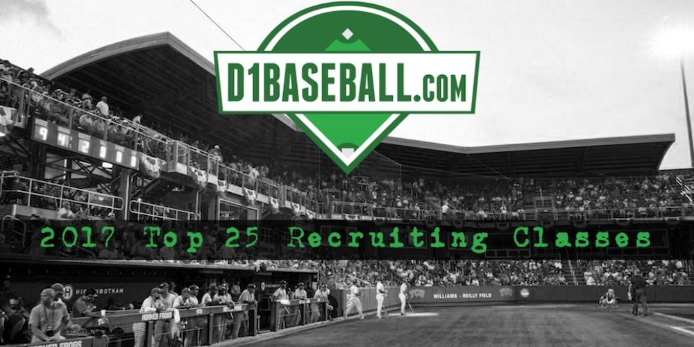 2017 Recruiting Class Rankings 1625