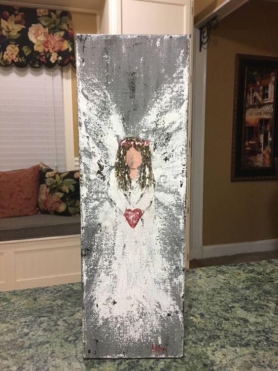 Angel Painting, angel art, guardian angel, spiritu
