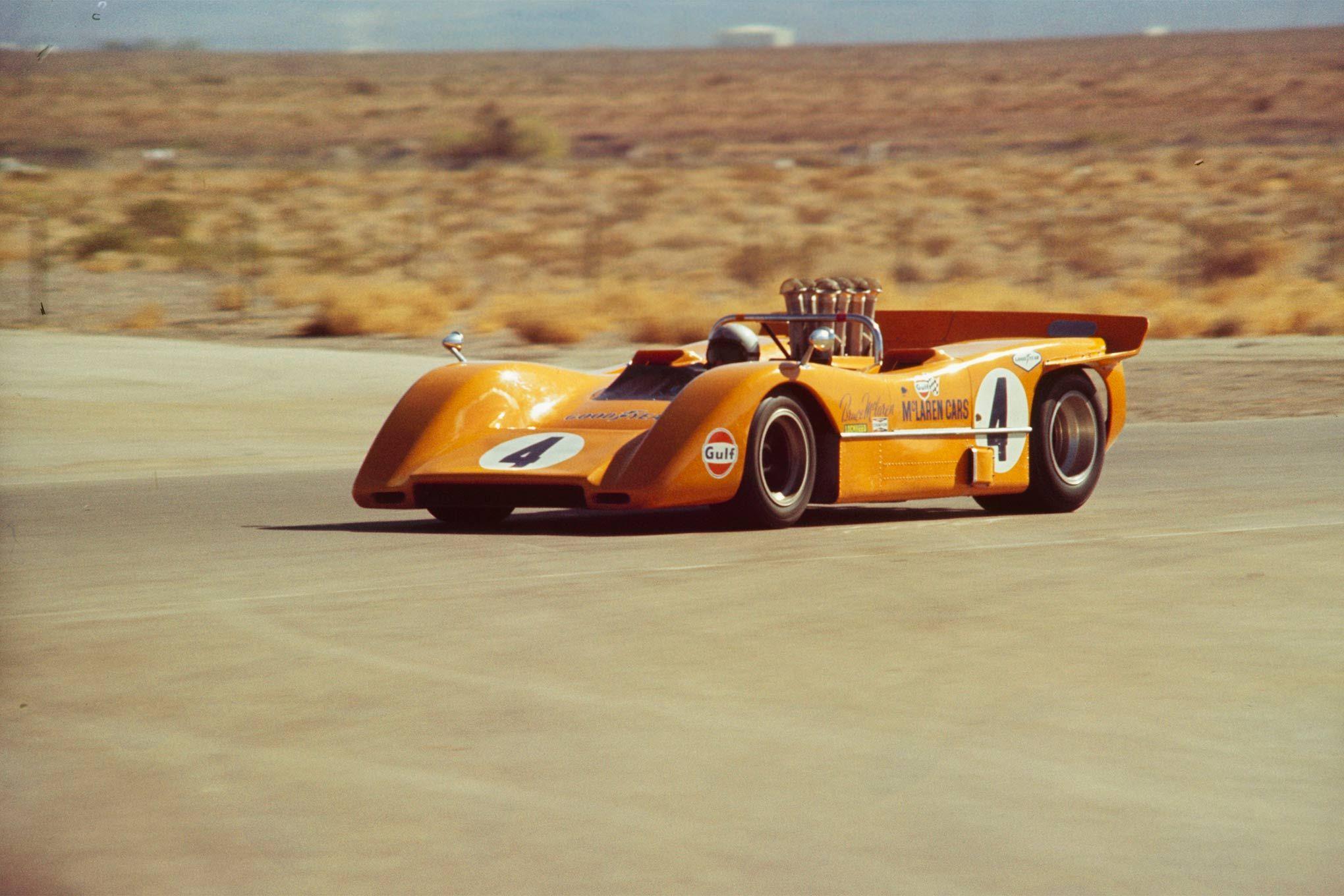 Bruce McLaren McLaren M8A Chevrolet McLaren Cars. Ltd