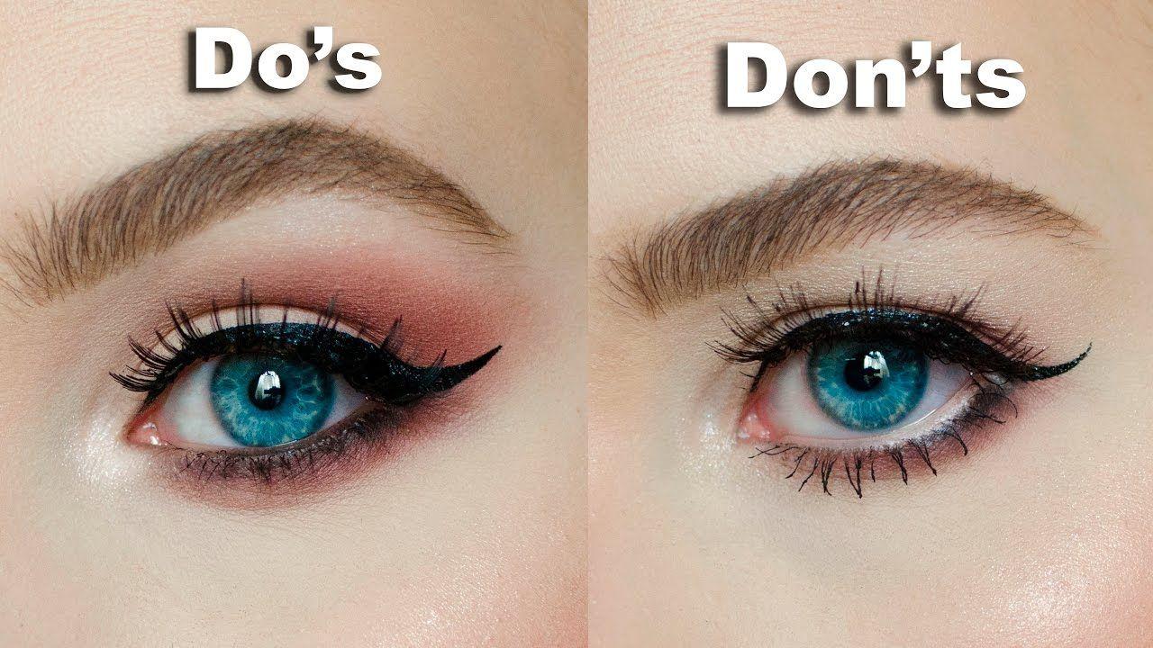 Do S Don Ts For Hooded Downturned Eyes Maria Alexandra