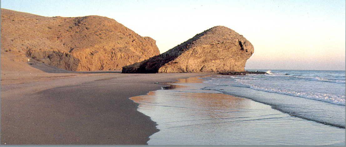 Playa De Monsul Almería Almería Costa De Almeria Playa