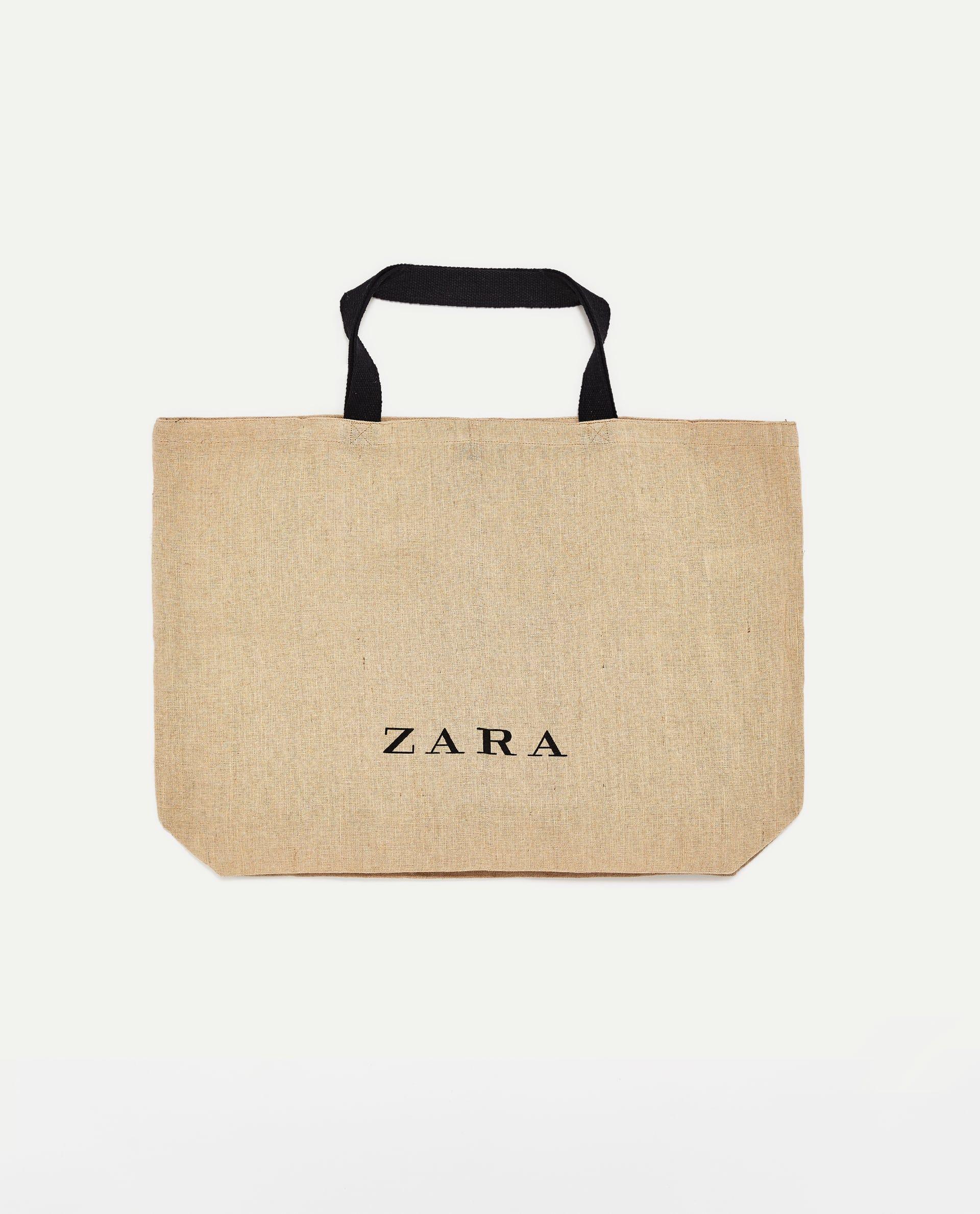 577c1bfba BOLSO SHOPPING YUTE | Wishlist (Fashion) | Jute tote bags, Zara bags ...