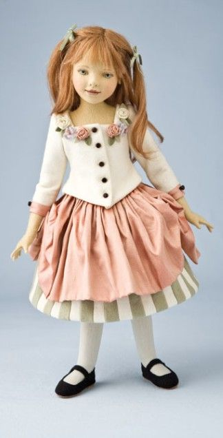 Satine by Maggie Iacono of Maggie Made Dolls, is part of a 60-piece limited edition.