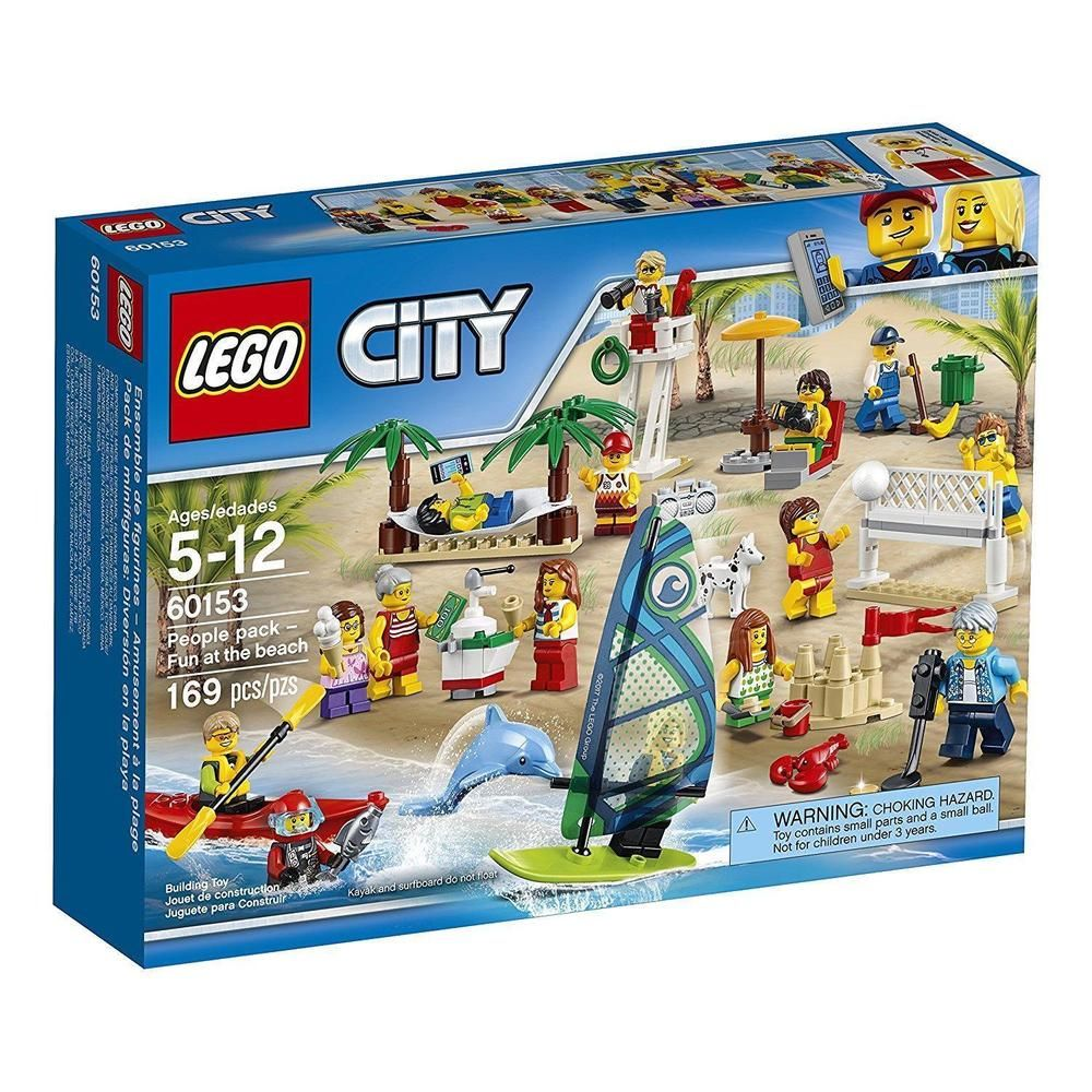 Fun at The Beach 60153 NEW Lego City People Pack