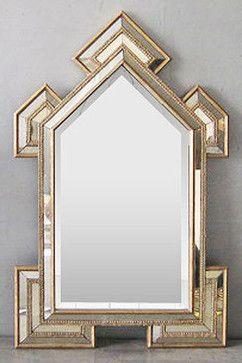 Art Deco Cathedral Mirror Modern Mirrors Art Deco Wall Mirror Wall Clock Art Deco Art Deco Mirror