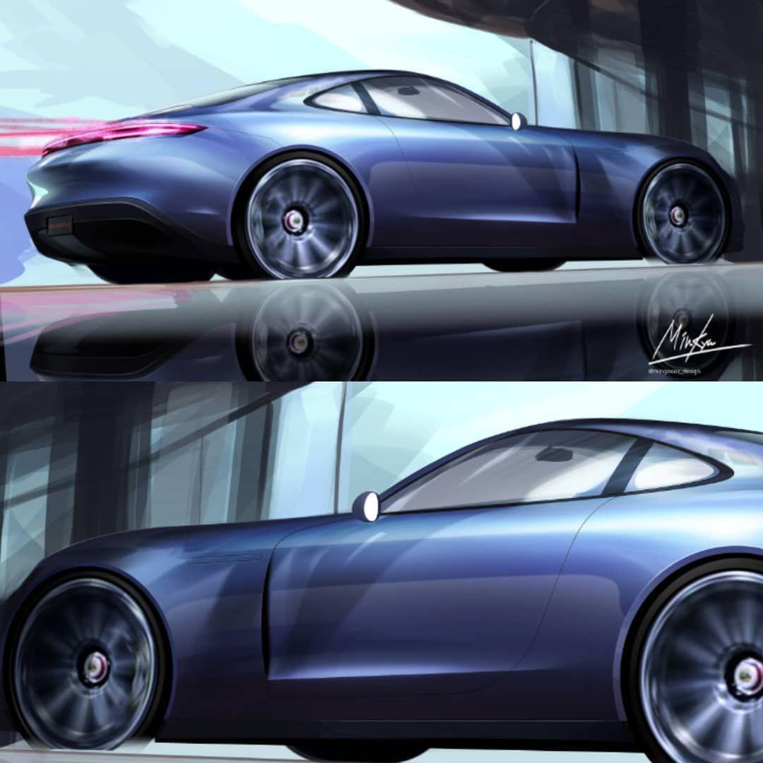 Porsche Fr Coupe Porsche Porsche Design Car Design Sketch