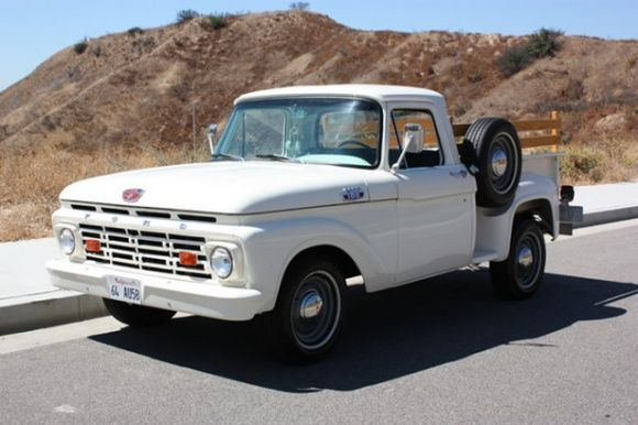 bat exclusive 1964 ford f100 flare side cars trucks vans and rh pinterest com