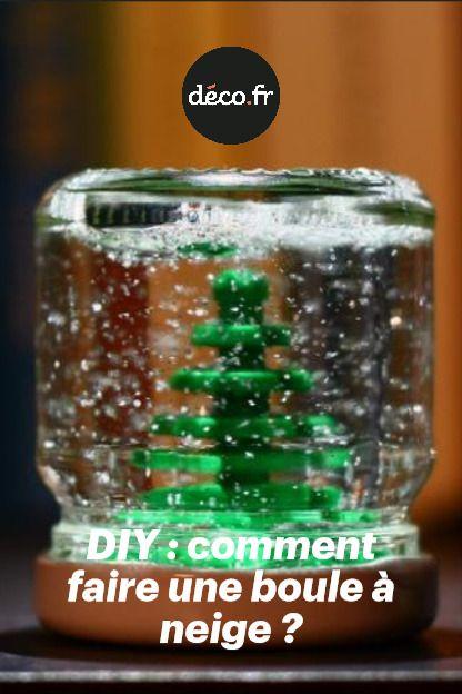 DIY : comment faire une boule à neige ?
