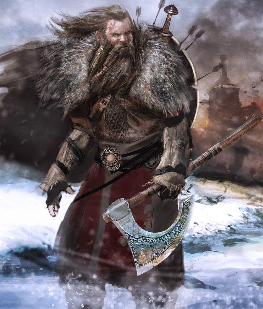 Fire & Axe: A Viking Saga by Lamin Martin   RPG Characters ...