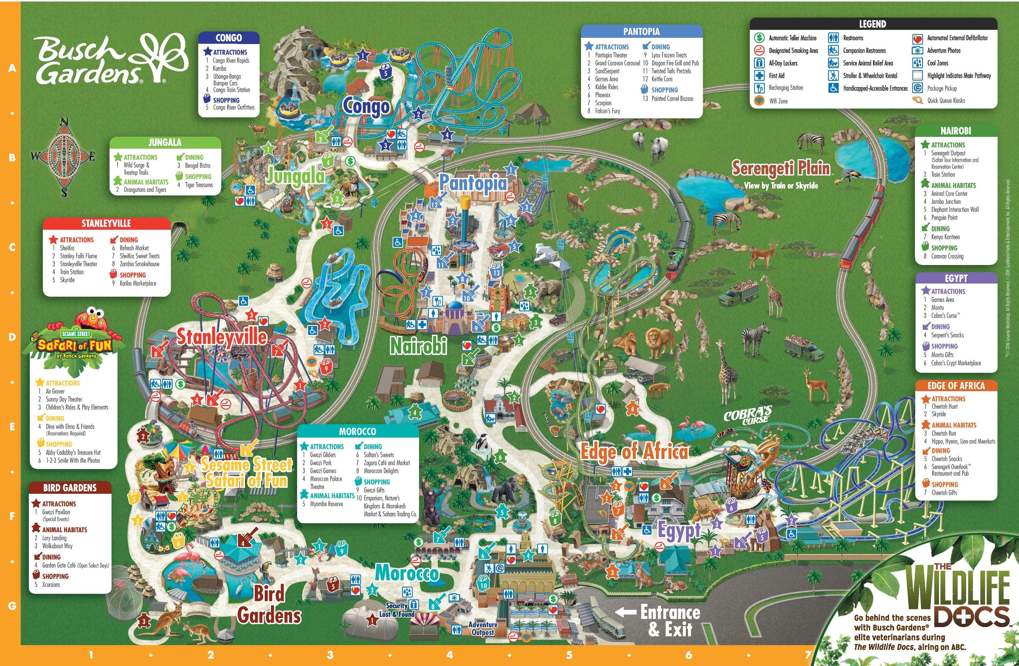 b2482f1ffe9af82348b132c16506696a - Busch Gardens Tampa Christmas Town Map