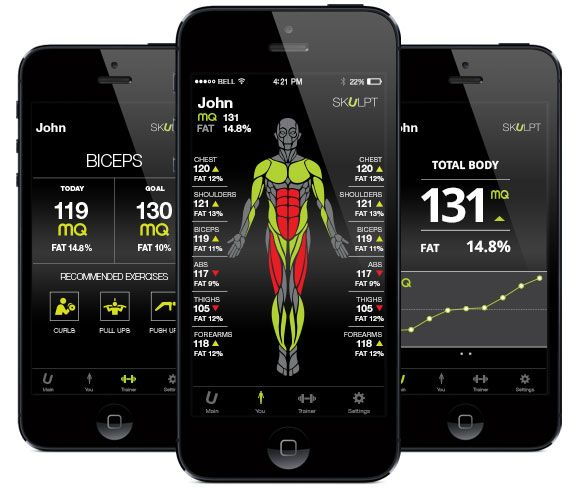 Skulpt Aim World S First Device To Measure Muscle Fitness With One Touch Ingogo