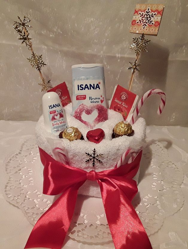 Weihnachtsgeschenk handtuchtorte gutschein geschenke pinterest - Pinterest weihnachtsgeschenke ...