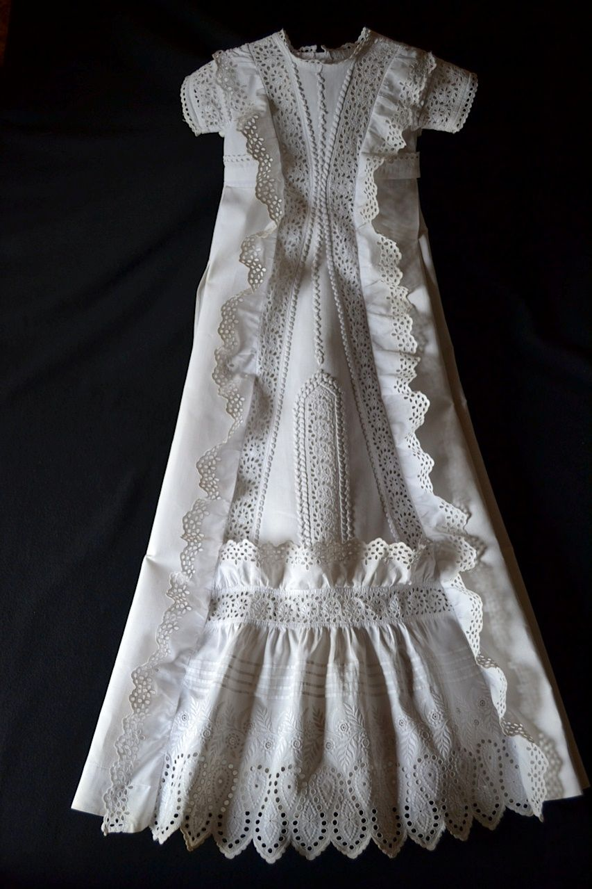 Danish vintage christening dress | Christening | Pinterest ...