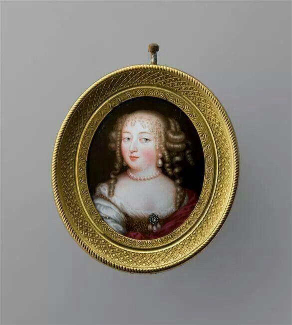 Jean Petitot- Athenais De Montespan