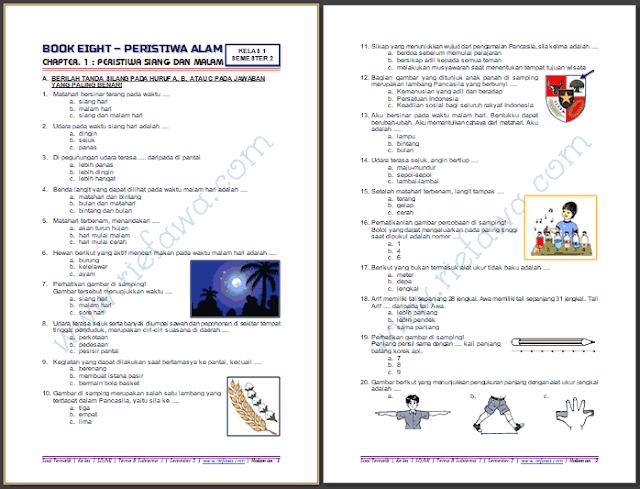 Soal Tematik Kelas 1 Tema 8 Subtema 1 Semester 2 Kurikulum 2013 Tahun 2018 2019 Gudang Soal Tema Kelas Sekolah Dasar Belajar