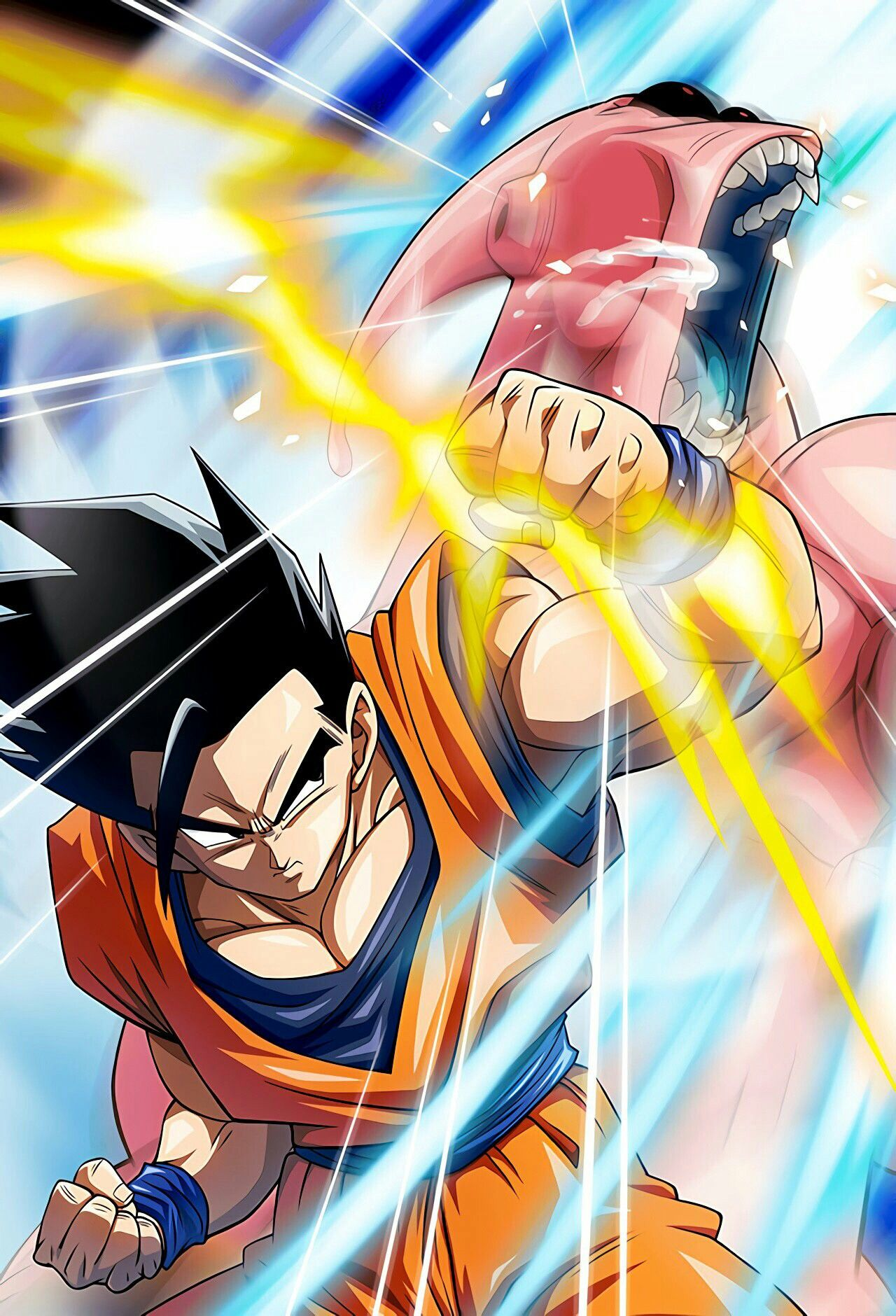 Gohan Vs Super Buu Dragon Ball Dragon Imagens De Dragon Ball