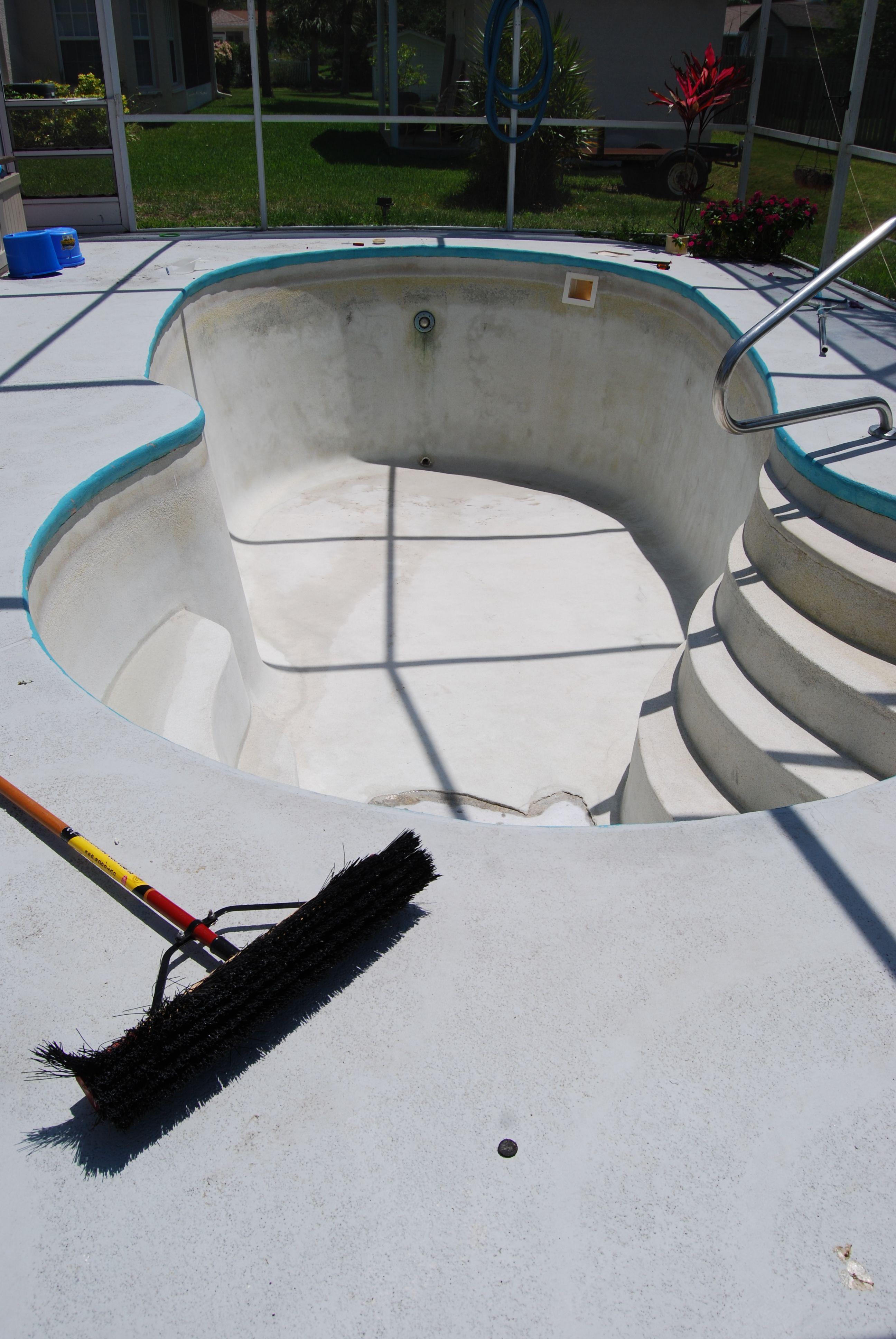 Diy Pool Repairs Home Diy Pool Pool Plaster