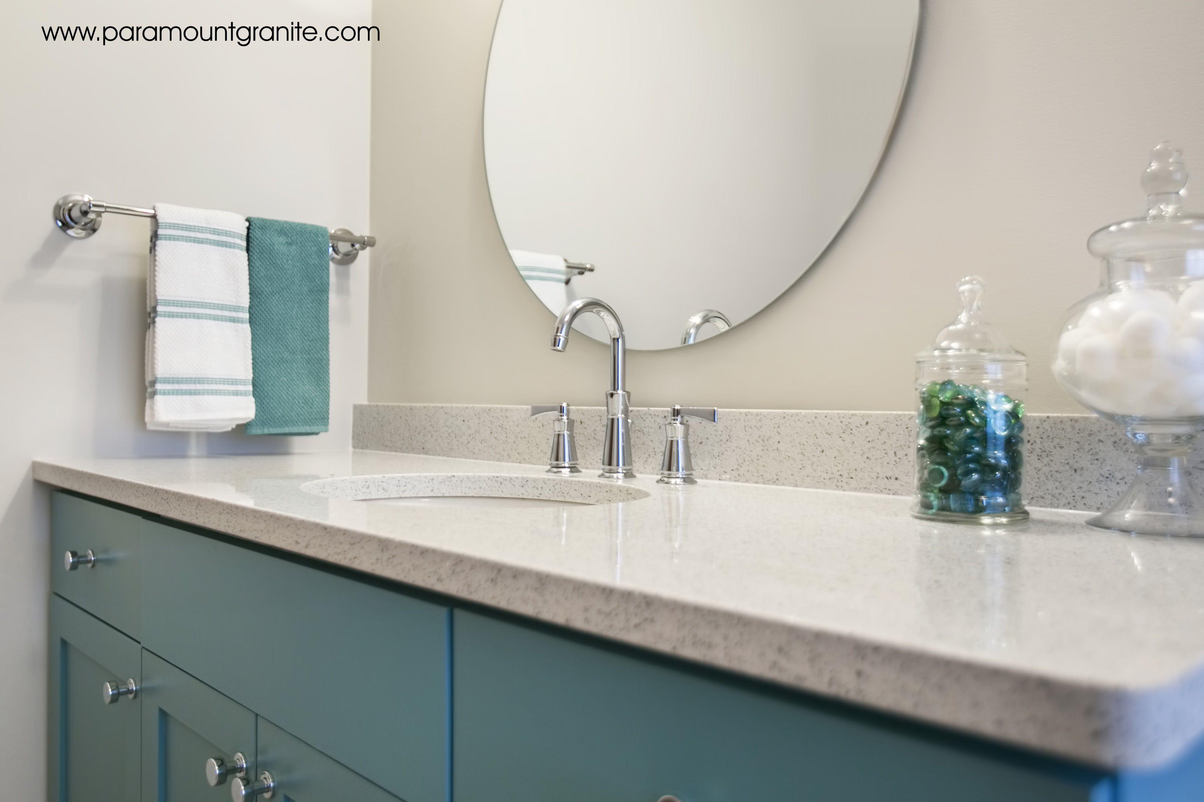 Silestone Quartz Stellar Snow Add Some Elegance To Your Bath