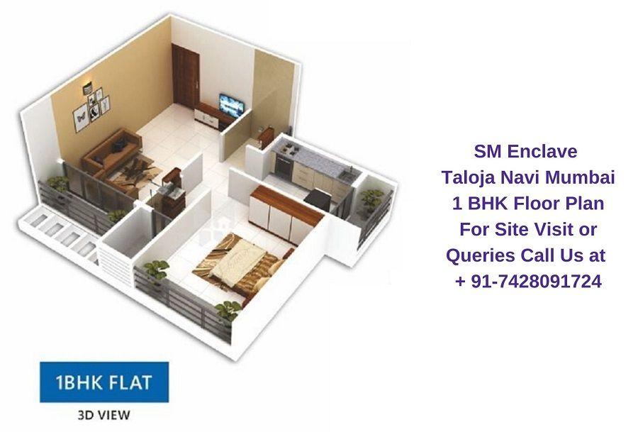 1 Bhk Floor Plan All Modern Floor Plans Enclave