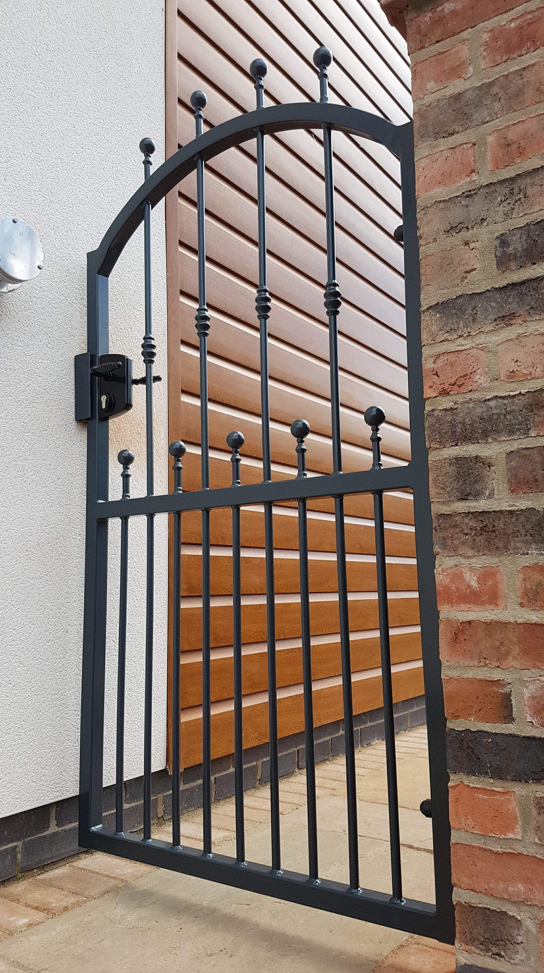With Safety Ball Finials And A Locinox Lock For Added Security