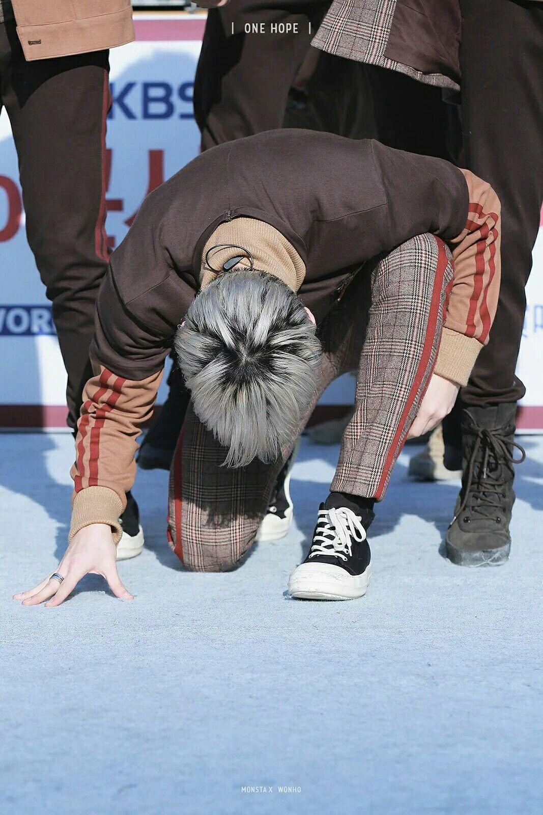 161111 #MONSTA_X #Wonho #몬스타엑스 #원호 #GUILTY #FIGHTER @OfficialMonstaX Cr. OneHope