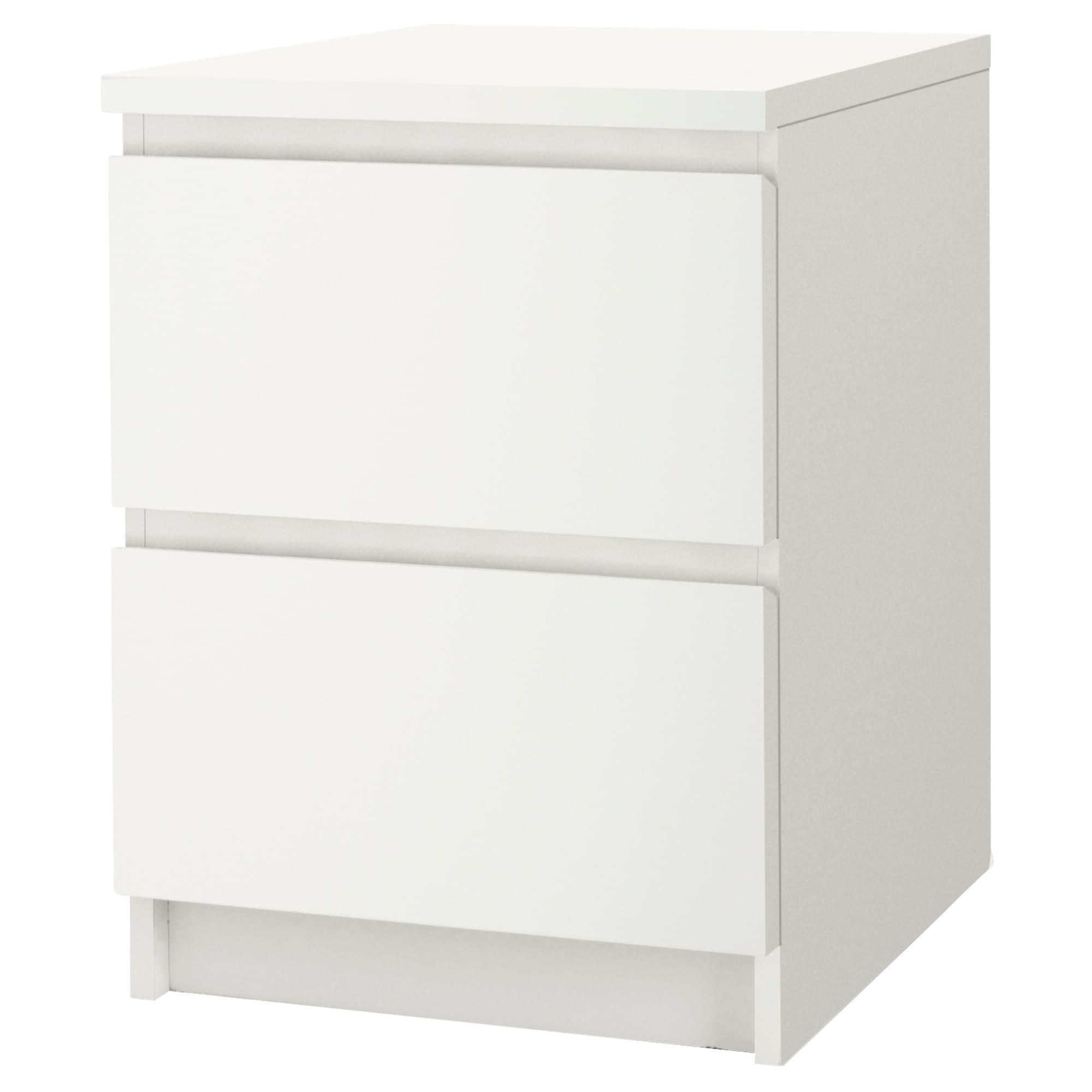 ikea - malm 2-drawer chest white | pinterest | malm, ikea malm and