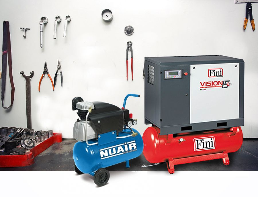 Air Compressor S Nuair And Fini